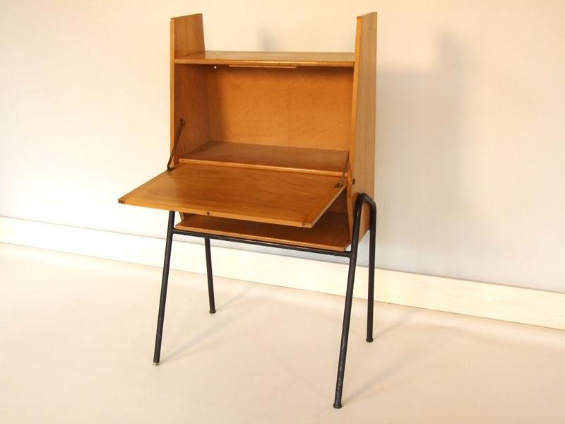 secretaire ann es 50 style guariche. Black Bedroom Furniture Sets. Home Design Ideas
