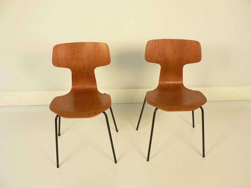 chaise arne jacobsen vinatge. Black Bedroom Furniture Sets. Home Design Ideas