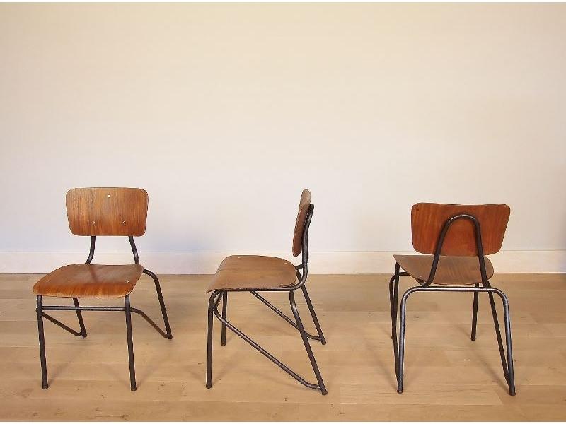 Chaise Design Industriel Vintage
