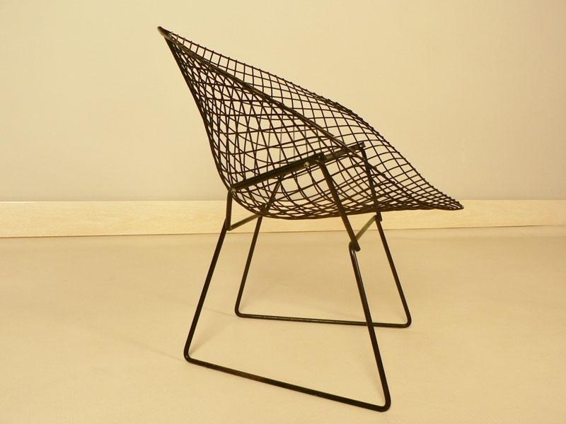 fauteuil bertoia diamond. Black Bedroom Furniture Sets. Home Design Ideas