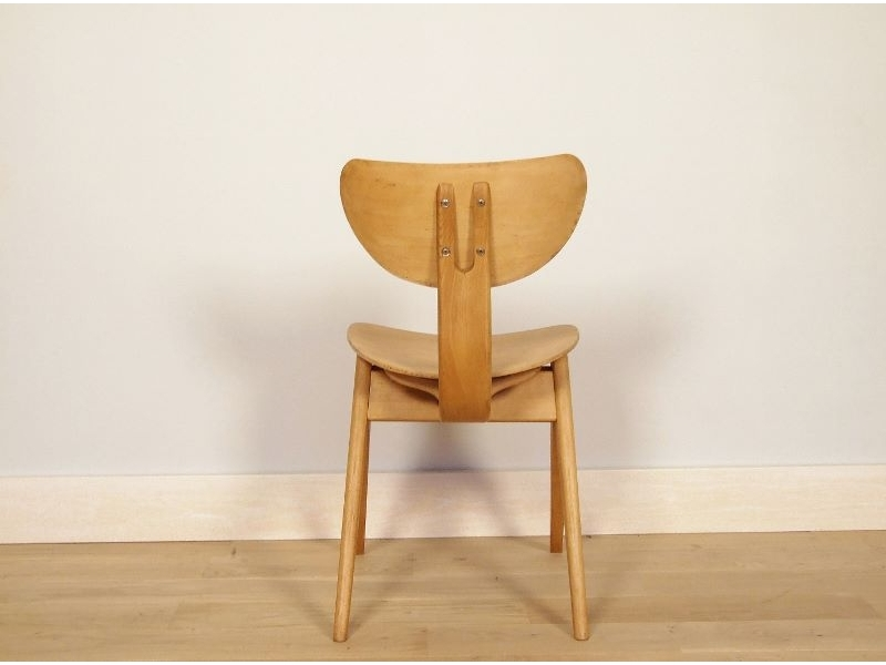 chaise pieds compas. Black Bedroom Furniture Sets. Home Design Ideas