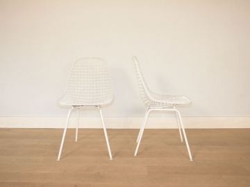 chaise eames dkx vintage