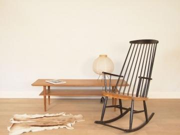 rocking chair scandinave vintage