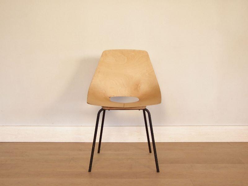 chaise tonneau amsterdam guariche vintage. Black Bedroom Furniture Sets. Home Design Ideas