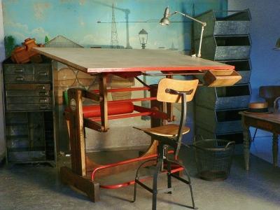 Table Architecte Ancienne