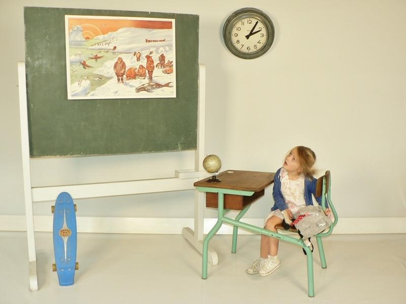 Tableau d 39 ecole pour decorer la chambre d 39 enfant - Tableau ecolier ikea ...