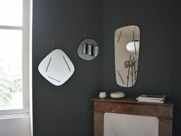 miroir triptyque asymétrique rétroviseur
