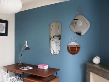 miroirs triptyques grisés Maison Simone