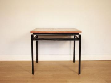 Table vintage gascoin alveole design année 50 moderniste maison simone nantes paris la baule