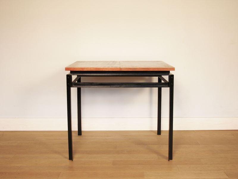 table manger gascoin vintage alveole jean prouv. Black Bedroom Furniture Sets. Home Design Ideas