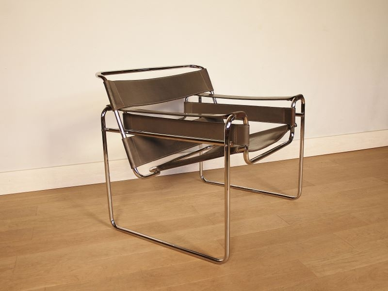 fauteuil design bauhaus marcel breuer vintage b3. Black Bedroom Furniture Sets. Home Design Ideas