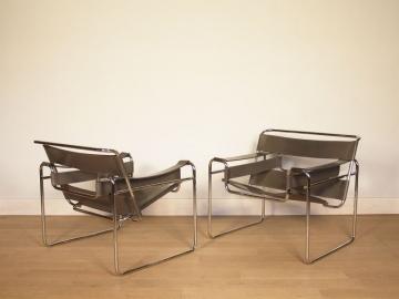 fauteuil wassily marcel breuer design 20eme siecle bauhaus vintage maison simone nantes paris la baule