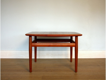 Table basse vintage scandinave