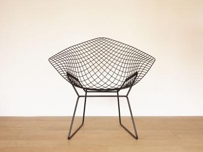 Fauteuil Bertoia Diamond Knoll Design Vintage Maison Simone Nantes