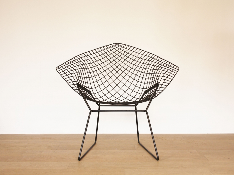 fauteuil bertoia vintage diamond knoll. Black Bedroom Furniture Sets. Home Design Ideas