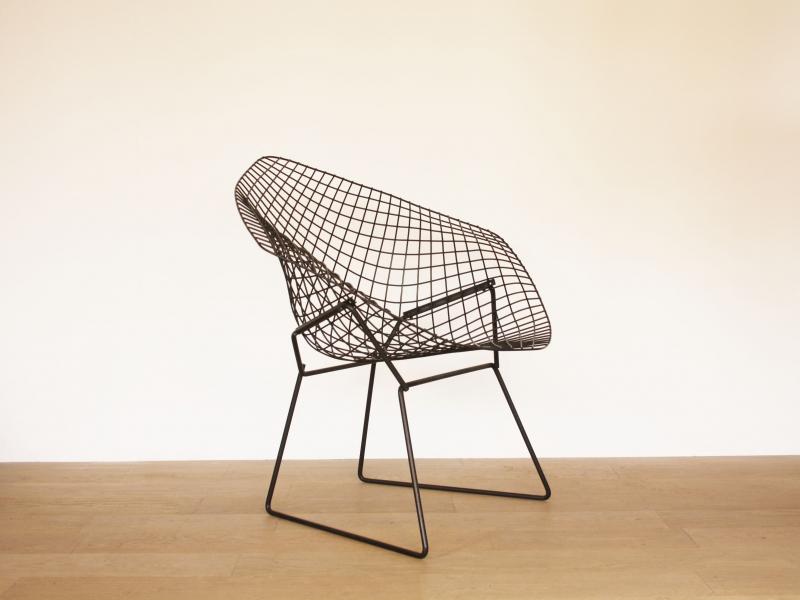 fauteuil bertoia vintage diamond knoll. Black Bedroom Furniture Sets. Home Design Ideas