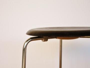 Tabouret stool Arne Jacobsen Fritz Hansen design vintage années 60 maison simone nantes paris