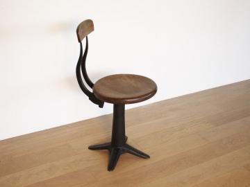 Tabouret stool atelier Singer industriel vintage maison simone nantes