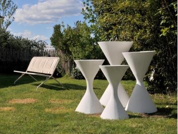 jardinière design vintage Willy Guhl maison simone nantes