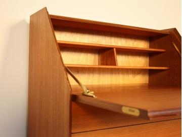 Secrétaire droit vintage bureau maison simone nantes