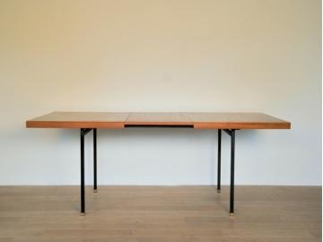 table rallonge vintage design années 50 60 maison simone nantes