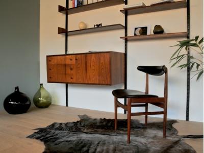 Chaise bureau vintage design scandinave maison simone nantes