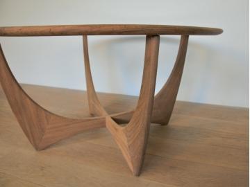 table basse ronde astro g plan wilkins design scandinave maison simone nantes la baule