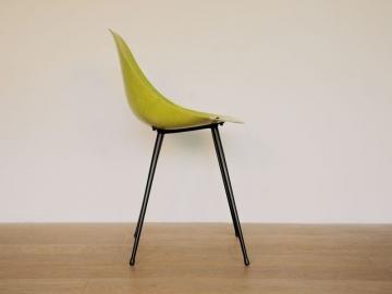chaise coccinelle caillette design vintage maison simone année 50 nantes