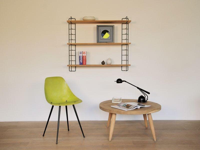 table basse ronde ch ne vintage maison simone nantes. Black Bedroom Furniture Sets. Home Design Ideas