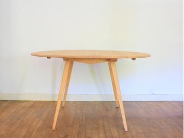 Table à manger ovale Ercol vintage maison design anglais simone nantes paris la baule