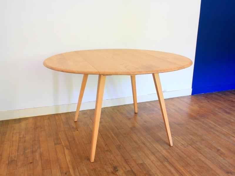 table manger ovale ercol vintage maison simone nantes. Black Bedroom Furniture Sets. Home Design Ideas