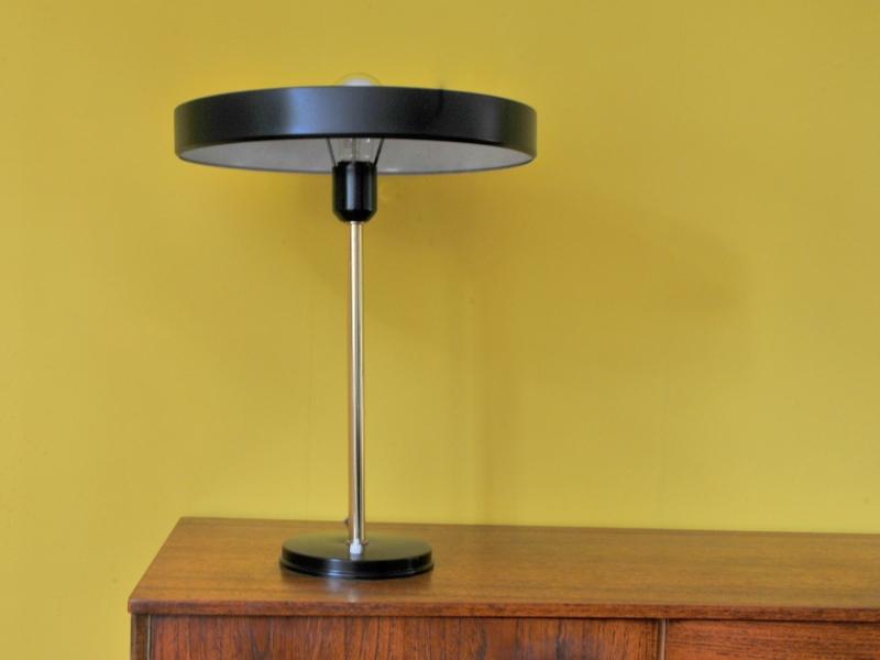 lampe bureau ufo kalff vintage philips maison simone. Black Bedroom Furniture Sets. Home Design Ideas