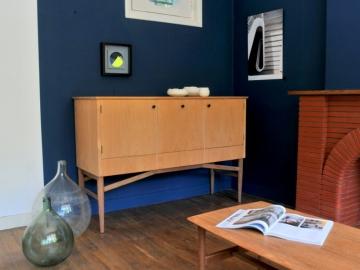 Enfilade scandinave vintage rangement teck maison simone nantes paris la baule