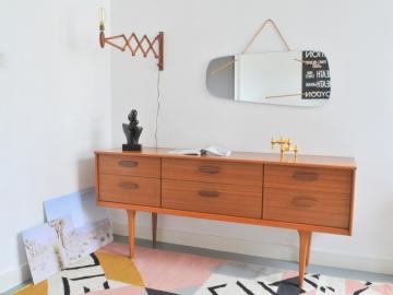 Enfilade commode vintage scandinave maison simone nantes paris la baule