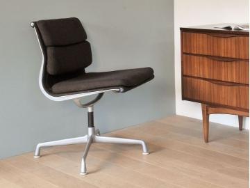 fauteuil eames soft pad vintage tissus maison simone nantes