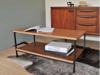 Table basse moderniste vintage maison simone nantes