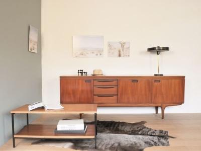 enfilade vintage scandinave design année 50 maison simone nantes