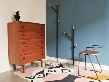 secr taire vintage pied compas mural maison simone nantes. Black Bedroom Furniture Sets. Home Design Ideas