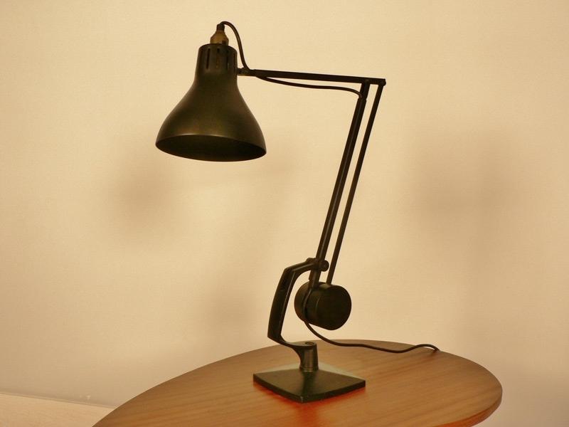 lampe bureau anglepoise noire