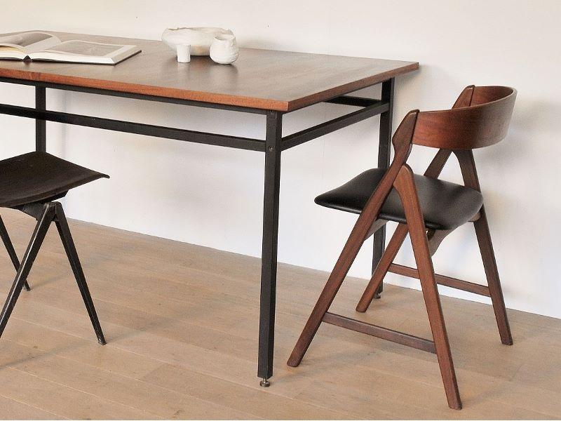 chaise scandinave vintage kai kristiansen maison simone nantes. Black Bedroom Furniture Sets. Home Design Ideas