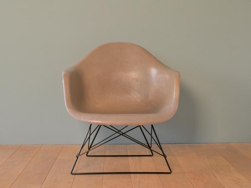 Eames fauteuil cats cradle elephant grey vintage maison simone for Fauteuil rar eames fibre de verre