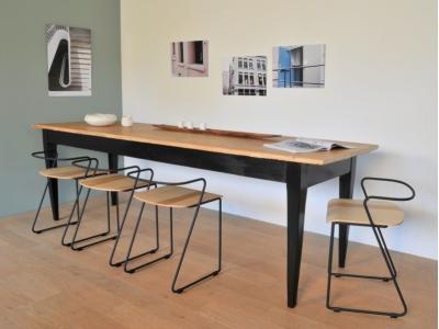 table bistrot ferme grande vintage maison simone nantes paris