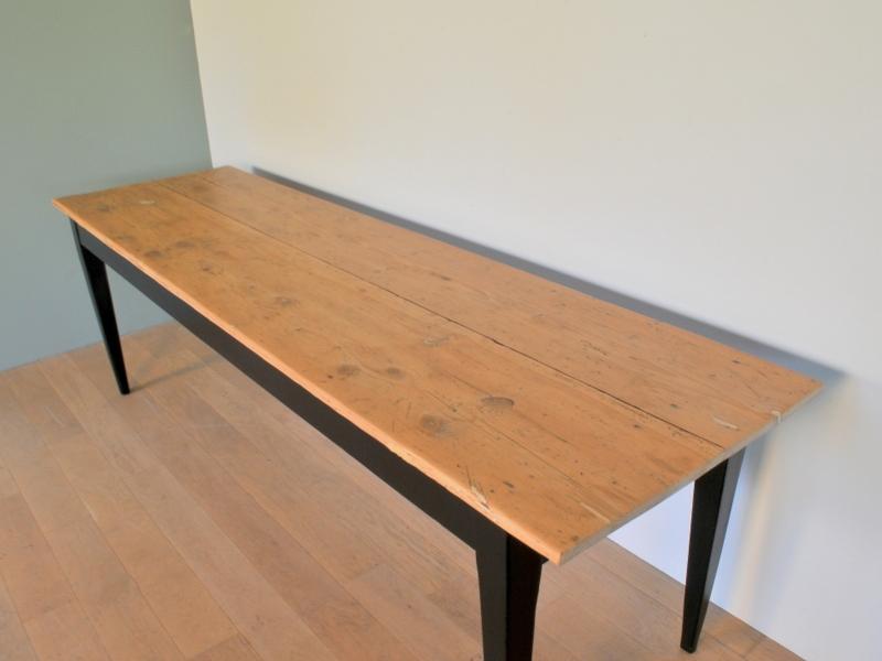 grande table bistrot ferme refectoire vintage maison simone. Black Bedroom Furniture Sets. Home Design Ideas