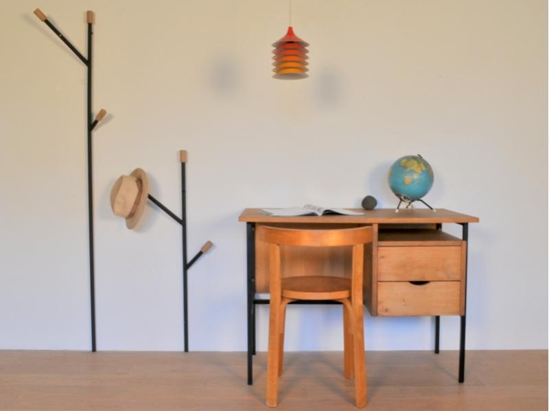 bureau moderniste enfant vintage ann e 50 60 maison simone nantes. Black Bedroom Furniture Sets. Home Design Ideas
