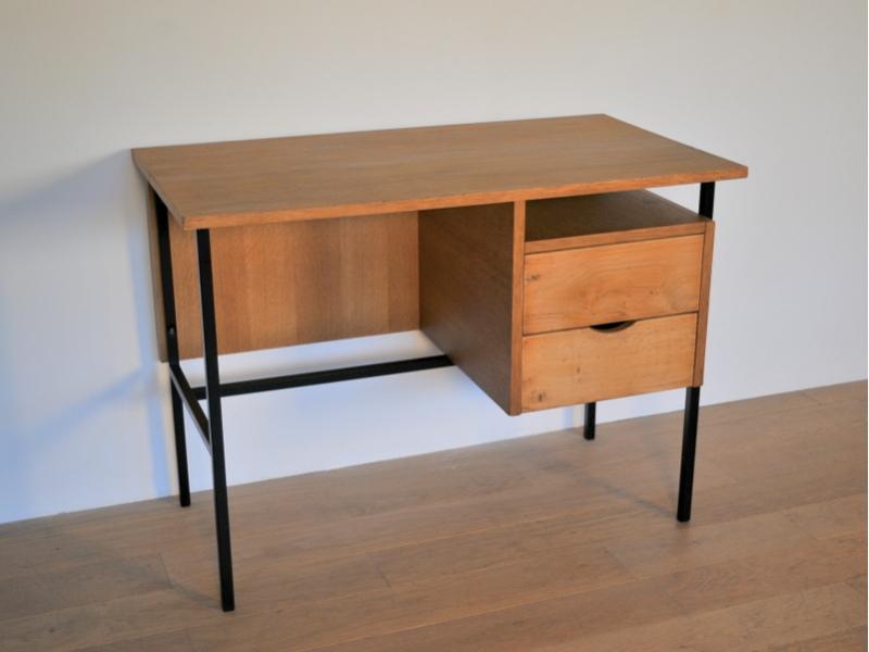 Bureau moderniste enfant vintage ann e 50 60 maison simone nantes - Petit bureau vintage ...