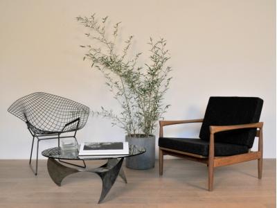 fauteuil vintage scandinave maison simone nantes