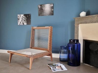 Fauteuil daybed tellier vintage maison simone nantes