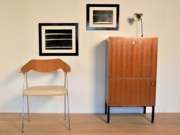 Secrétaire moderniste vintage année 50 60 maison simone nantes
