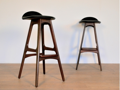 tabouret bar buck mobler vintage design scandinave maison simone. Black Bedroom Furniture Sets. Home Design Ideas