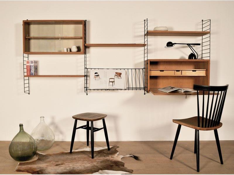 string etagere murale vintage maison simone nantes. Black Bedroom Furniture Sets. Home Design Ideas